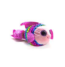 Маленькая мягкая игрушка Глазастик: Рыбка (розовая)