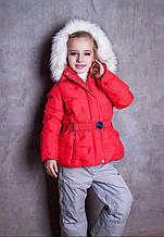 Детская куртка для девочки Одежда для девочек 0-2 POIVRE BLANC Франция 246621-2117736 Красный