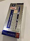 Шариковая ручка Flair 10 км синяя, фото 4