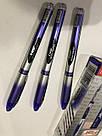 Шариковая ручка Flair 10 км синяя, фото 6