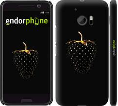 "Чехол на HTC 10 Черная клубника ""3585c-464-851"""
