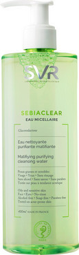 Очищающая мицеллярная вода SVR Sebiaclear Matifying Purifying Cleansing Water