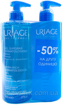 Набор Uriage (Gel Dermatological/2X500ml)
