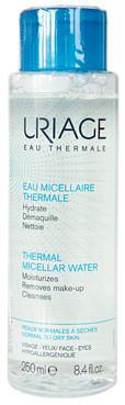 Мицеллярная термальная вода для нормальной и сухой кожи Uriage Thermal Micellar Water Normal To Dry Skin