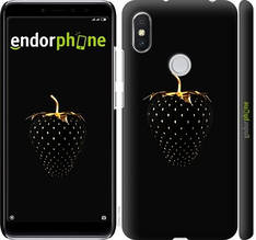 "Чехол на Xiaomi Redmi S2 Черная клубника ""3585c-1494-851"""