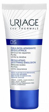 Эмульсия ДС от шелушения и раздражения кожи Uriage D.S. Regulating Care Emulsion