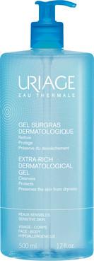 Очищаючий дерматологічний гель Uriage Extra-Rich Dermatological Cleanser 500 мл