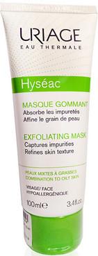 Мягкая отшелушивающая маска-эксфолиант Uriage Hyseac Exfoliating Mask 100 мл