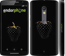 "Чехол на Motorola Moto X Play Черная клубника ""3585c-459-851"""