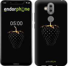 """Чехол на Nokia 7.1 Plus Черная клубника """"3585u-1606-851"""""""