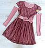 Детское платье р.122-146 Инесса