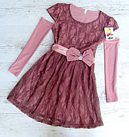 Детское платье р.122-146 Инесса, фото 1