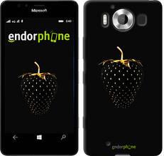 """Чехол на Microsoft Lumia 950 Dual Sim Черная клубника """"3585u-294-851"""""""