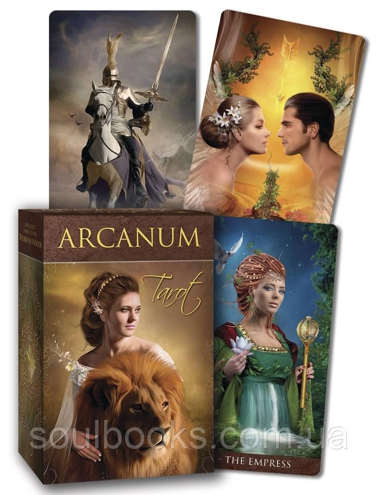 """Карты """"Arcanum Tarot"""" (Таро Арканум)"""