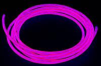 Холодный неон 3-го покл.5.0 мм, розовый.