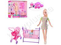 Кукла Беременная. Defa Lucy 8363