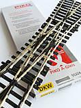 Двойная или Английская стрелка DKW 15°/239mm, Рельсовый материал  PIKO A-Gleis 55224 , масштаба 1:87, фото 3