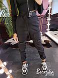Женские брюки карго с ремешками и накладными карманами 6612364E, фото 2