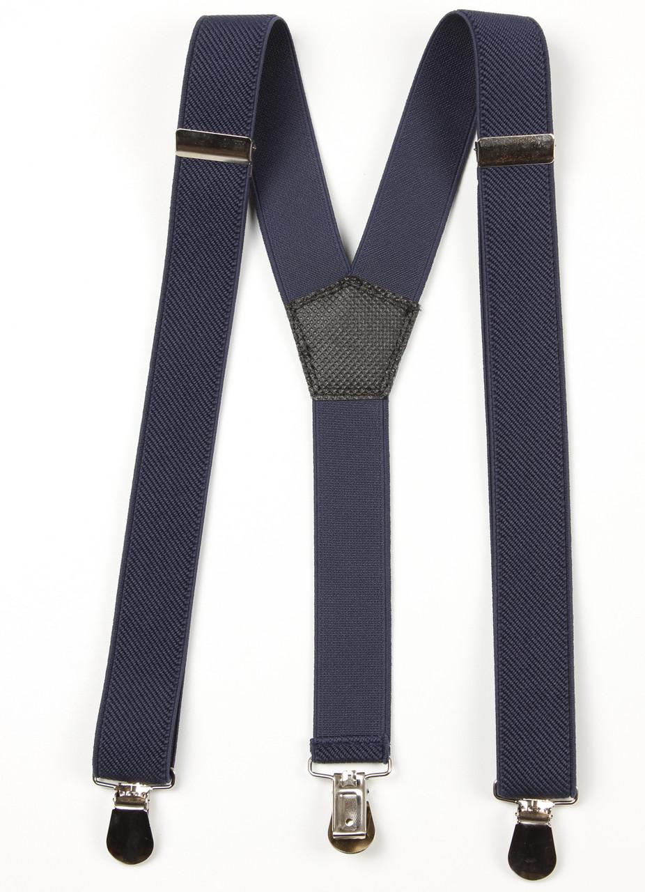 Подтяжки подростковые узкие Y25 Top Gal темный джинс однотонные цвета в ассортименте
