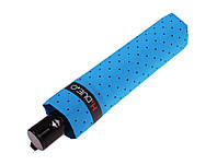 Голубой зонт в горох H. DUE. O  (полный автомат)  арт. 260 AZ, фото 1