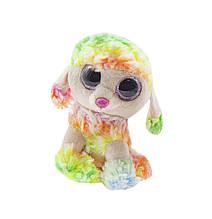 Маленькая мягкая игрушка Глазастик: Пудель (разноцветный)