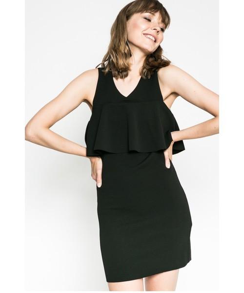 Мини-платье черное женское