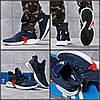 Кросівки Adidas Bounce, т-сині. Текстиль. 41-46р (26.5-29.9см)
