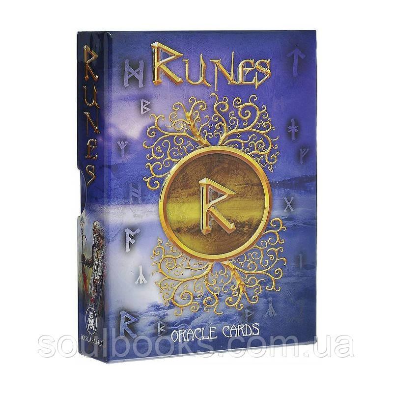 Карты Runes Oracle (Оракул Рун Позолоченный)