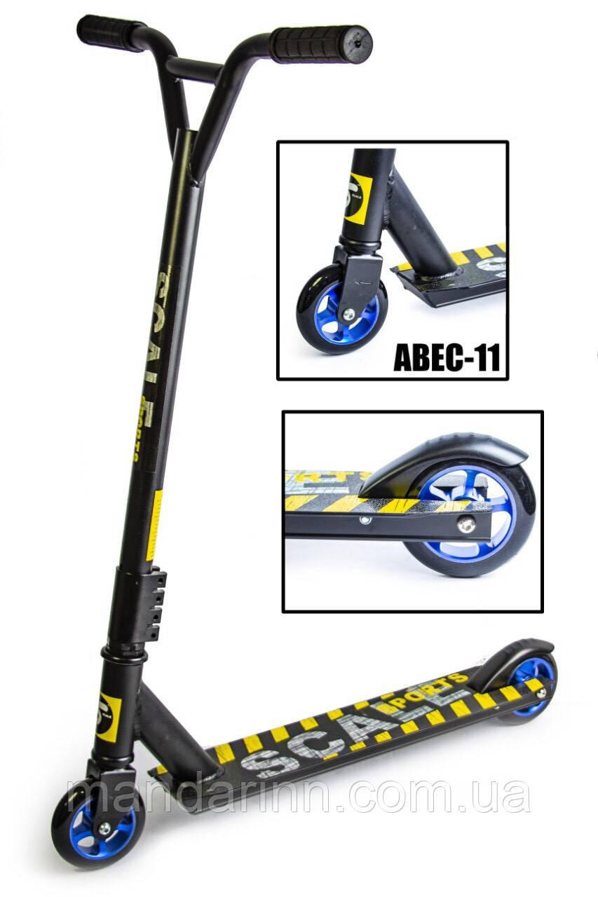 Самокат Трюковий Scale Sports Extrem ABEC-11 Чорний