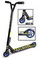 Самокат Трюковий Scale Sports Extrem ABEC-11 Чорний, фото 1