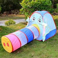 """Детская игровая палатка """"Слоник"""" 889-87B, фото 3"""