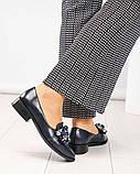 Шикарные женские туфли  лоферы с декором, фото 3