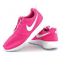 Легкие дышащие кроссовки Nike Roshe One р 38, спортивная женская обувь