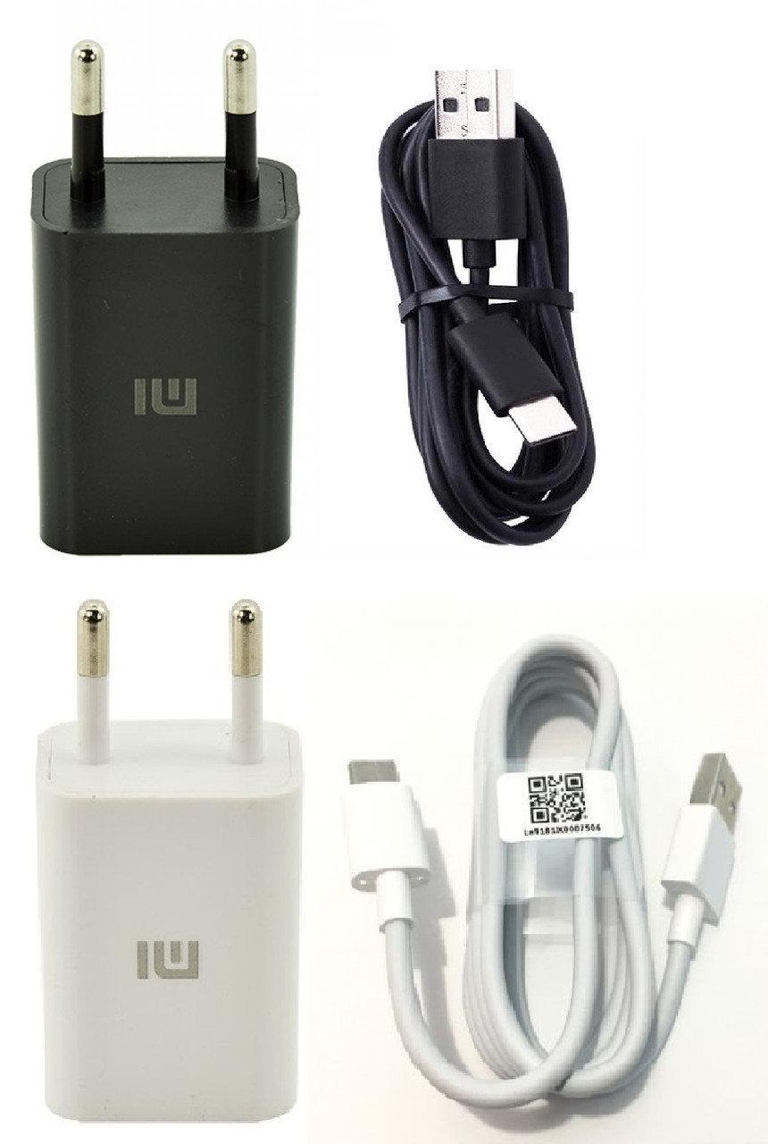 Сетевое зарядное устройство зарядка Xiaomi (Mi) Type-C 2 в 1 оригинал для Xiaomi Mi 9