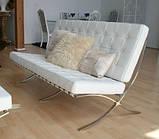 Диван Барселона 2-местный 160 см исскуственная кожа белый СДМ группа (бесплатная доставка), фото 4