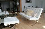 Диван Барселона 2-местный 160 см исскуственная кожа белый СДМ группа (бесплатная доставка), фото 9