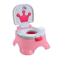 Детский горшок 68011 Розовый