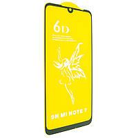 Стекло 6D PREMIUM XIAOMI Redmi Note 7/Note 7 PRO ЧЁРНЫЙ