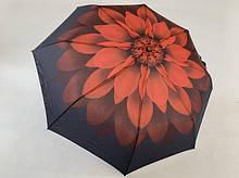 Молодежный  зонт механика на 8 спиц цвет красный с рисунком