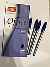 Ручка шариковая Office 6228 синяя, фото 2