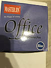 Ручка шариковая Office 6228 синяя, фото 6
