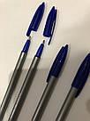 Ручка шариковая Office 6228 синяя, фото 5
