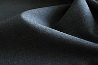 Костюмная шерстяная ткань серого цвета