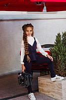 Школьный костюм  для девочки жилетка и брюки, фото 1