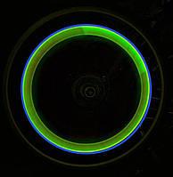 Подсветка колес светодиодная—лайм, подсветка дисков.