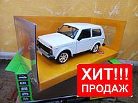 """Машина металлическая Нива """"АВТОПРОМ """"  21214. Жмите!"""