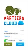 Облачный сервис для камер Partizan