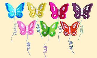"""Цукрова фігурка """"Метелики святкові"""""""