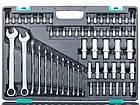 Набор инструмента STELS 216 ед. с пожизнен. гарантией +противоуд. кейс 14115, фото 2