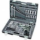 Набор инструмента STELS 216 ед. с пожизнен. гарантией +противоуд. кейс 14115, фото 3